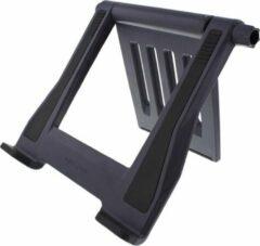 Zwarte Maxxter laptopstandaard, Notebook-bureaustandaard.