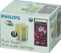 Transparante Philips antikalk cassette 4 stuks strijkijzer Philips 13169 v