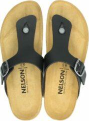 Orange Babies Nelson heren slipper - Zwart - Maat 40