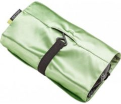 Cocoon - Hanging Toiletry Kit Minimalist with Silk - Toilettas maat 24 x 17 x 1 cm, groen/wit