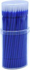Lashes & More Kwastjes Tanden Bleken - Blauw 100 stuks - Brush applicators