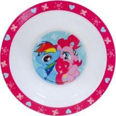 Diepe Kunststof Borden/kommetjes/schaaltjes My Little Pony Thema Print 16 Cm