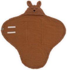 Bruine Jollein Wikkeldeken Bunny - Caramel