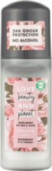 Love Beauty And Planet Vegan Deodorant Roller Muru Muru Butter & Rose