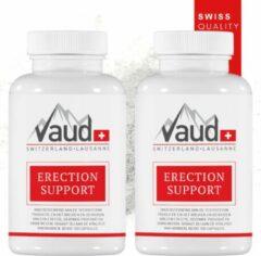 Erection Support 2 stuks | Vaud | 200 capsules | Natuurlijke erectie pillen | Erectiepillen voor mannen | Vervanger viagra | Camagra | Libido