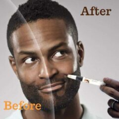 Missan Online Baardgroei Original stift FILLER (zwart) - Baard pen - Baard groei - Natural Beard Growth Stift - Baard pen
