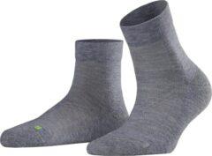Licht-grijze FALKE Cool Kick Unisex Sneakersokken - Lichtgrijs - Maat 39-41