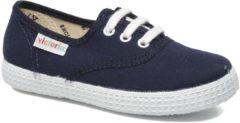 Blauwe Lage Sneakers Victoria INGLESA LONA