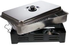Zilveren Cosy&Trendy Deluxe Rookoven - 43x27 cm