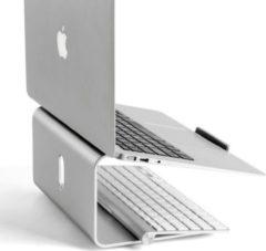 Opus2 Laptopstandaard - OPUS 2 - Style Plus - Aluminium - 360 graden draaibaar - Geschikt voor 10 tot 17 inch laptop.