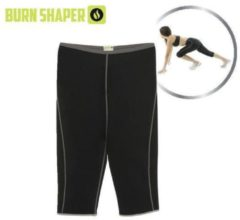 Zwarte Burn Shaper Broek Vetverbrander Zacht en licht, sterk en flexibel, comfortabel. - Maat L valt klein.