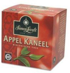 Simon Levelt Appel Kaneel bio envelop 10 Zakjes
