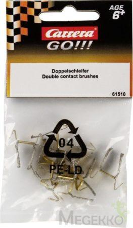 Afbeelding van Zilveren Stadlbauer Carrera GO!!! Sleepcontacten - 10 Stuks - Racebaanonderdeel