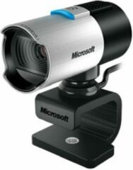Zilveren Microsoft LifeCam Studio HD 1080P - Webcam