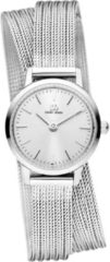 Zilveren Danish Design watches edelstalen dameshorloge Akilia Mini Swing Silver IV82Q1268