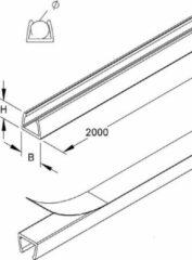 Transparante Silkline Facet 10mm links/rechts Spiegel