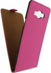 Mobilize (Ultra slim serie) flip case hoesje - Magnetische sluiting - Roze kunstleer - voor Samsung Galaxy A7 (MOB-USFCF-A7)