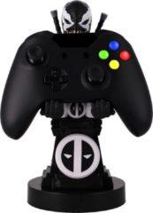 Zwarte Cable Guy - VENOMPOOL telefoonhouder - game controller stand met usb oplaadkabel 8 inch