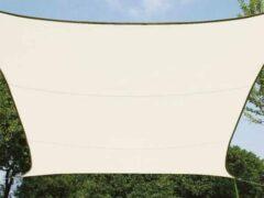Creme witte Velleman ZONNEZEIL - RECHTHOEK - 4 x 3 m - KLEUR: CR\xc8ME