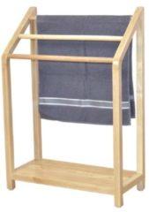 Handtuchhalter Wood Möbel-Direkt-Online braun