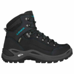 LOW - Lowa Renegade Mid GTX Narrow Schoen Dames Middengrijs/Turkoois