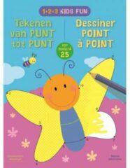 Deltas 1-2-3 Kids Fun - Tekenen van punt tot punt tot 25 / 1-2-3 Kids Fun - Dessiner de point à point jusqu'a 25