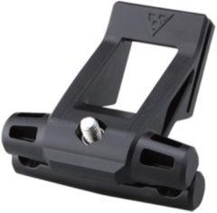 Zwarte Topeak Fixer F25 houder voor Wedge zadeltassen - Reserveonderdelen zadeltassen