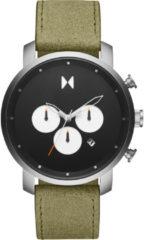 Groene MVMT heren chronograaf 28000008-D