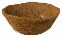 Bruine Nature 5 Stuks Kokosinlegvel Voor Hanging Basket Voorgevormd Met Waterkering Dia. 25cm
