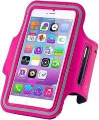 Qatrixx Sports armband case Donker Roze Dark Pink voor Apple iPhone 7 Plus