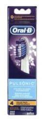 Opzetborstel voor elektrische tandenborstel Oral-B Pulsonic 4 stuks Wit