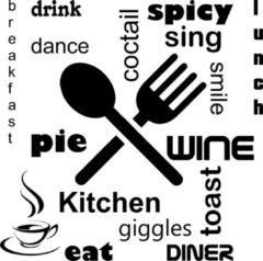 Stickeren.com Interieur sticker keuken001