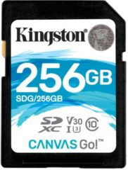Kingston Canvas Go! - Flash-Speicherkarte - 256 GB - SDXC UHS-I