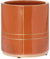 Oranje Riverdale NL Bloempot Suus brique 22cm