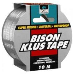 Bison Klus Tape rol 10m x 50mm grijs