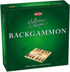 Bruine Selecta Spel en Hobby Backgammon Hout - Gezelschapsspel