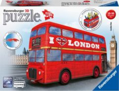 Rode Ravensburger London Bus - 3D puzzel - 216 stukjes