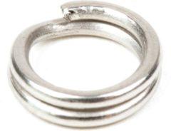 Grijze DLT Splitring Maat 6 - zilver