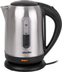 Mesko MS 1288 Kettle, Electric, Power 2200 W, Capacity 1.7 L, Stainless steel, Stainless steel/Black