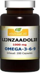 Elvitaal Lijnzaadolie omega 369 200 Capsules