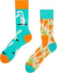Merkloos Good Mood Carrot Rabbit Unisex Animal Sokken Unisex Sokken 43-46