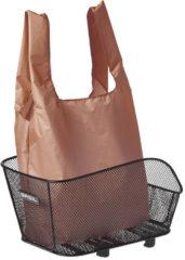 Bruine Basil Keep Shopper - Shoppertas voor fietsmand - Vouwbaar - Bruin