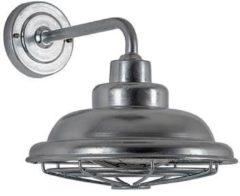 K.S. Verlichting KS Verlichting buiten wandlamp Petrol - zilver