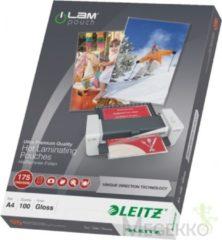 Leitz Ilam lamineerhoes ft A4, 350 micron (2 x 175 micron), pak van 100 stuks