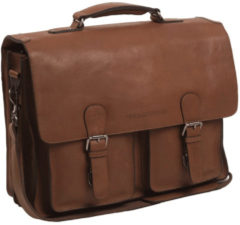 Black Friday Korting. Chesterfield Bags Businessbag Idaho Cognac nu voor € 274.55