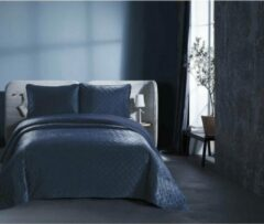 Dreamhouse Bedsprei - Classico - Gewatteerd - Luxe uitstraling - Incl. Kussenslopen - Blauw