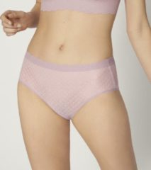Sloggi - sloggi ZERO Feel Lace High Waist Brief - LILAC ORCHIDEE - Vrouwen - Maat S