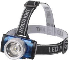BES LED Led Hoofdlamp - Aigi Scylo - Waterdicht - 50 Meter - Kantelbaar - 1 Led - 1.6w - Zwart Vervangt 7w