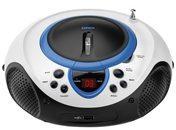 Lenco SCD-38 USB blue - UKW-Radio CD/MP3 tragbar USB,blau SCD-38 USB blue, Aktionspreis
