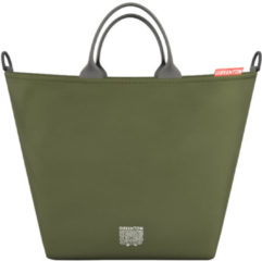 Groene Greentom Shopping Bag Olive
